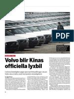 """""""Volvo nära kinesisk storaffär"""", för Fokus"""