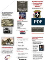 Borinqueneers Congressional Gold Medal Alliance BROCHURE