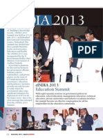 eINDIA Education Summit 2013 Event Report