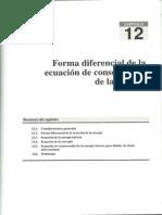 Tema12 - Forma diferencial de la ecuación de conservación de la energía