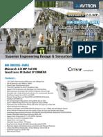 AM-DM2061-FMR3- Avtron Bullet IP Camera.pdf