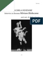 32 Raluca Ianegic - Indicibila devenire - interviu cu doamna Miriam Răducanu - C6.pdf