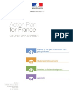 Action Plan for France - G8 Open Data Charter