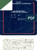 Anuario Juan Ramón Jiménez promoción 2007