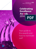 Celebrating Execllence Awards 2012 - Your Guide to The Awards and How to Nominate Staff