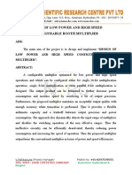 DESIGN OF LOW POWER AND HIGH SPEED CONFIGURABLE BOOTH MULTIPLIER.doc