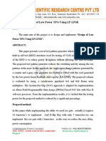 Design of Low Power TPG Using LP-LFSR.doc
