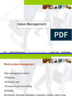 Class-1intro to Sales Management