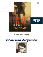 Cesar Vidal - El Escriba Del Faraon