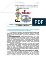Children in institutions Child Abuse and Neglect in Eastern Europe Overview of the situation of children in institutions  in Republic of Macedonia.doc