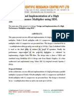 Design and Implementation of a High Performance Multiplier using HDL.doc