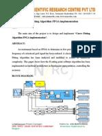 Curve Fitting Algorithm FPGA implementation.doc