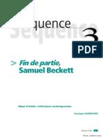 Fin de partie - Samuel Beckett - analyse et étude