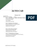 AutoCAD PROJECT REPORT Daksh Cad Technology.doc