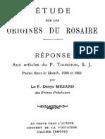 Etude Sur Les Origines Du Rosaire 000000281