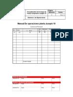 MANUAL operaciones  Planta Compresora Jusepín 10.doc