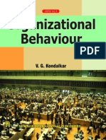 organizational behavior v g