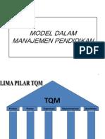 Model Dalam Manajemen Pendidikan