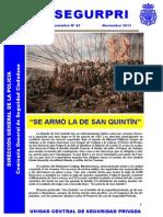 Boletin informativo UCSP Segurpri nº42