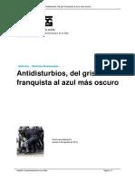 Antidisturbios Del Gris Franquista 12,7,2012