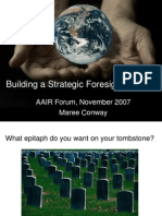 building-a-strategic-foresight-capacity.ppt