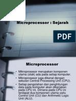 Sejarah Microprocessor OK