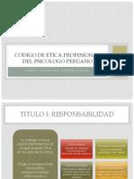 Codigo de Etica Profesional Del Psicologo Peruano