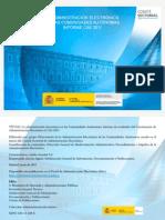 La administración electrónica en las Comunidades Autónomas