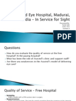 Aravind Eye Hospital, Madurai, India PPT