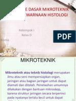 METODE DASAR MIKROTEKNIK DAN PEWARNAAN HISTOLOGI.pptx