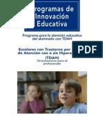 TDAH_ORIENTACIONES_ PROFESORADO