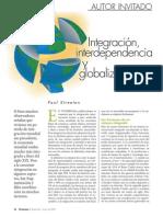 Paul Streeten - Integración, interdependencia y globalización