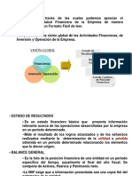 Interpretacion de Estados Financieros