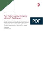 Microsoft Threat Management Gateway Alternatives White Paper