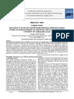 Efficiency of Plant Growth Promoting Rhizobacteria