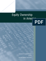 equity ownership in america