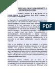 EDUCACIÓN PERUANA. DESCENTRALIZACIÓN Y MUNICIPALIZACIÓN