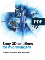 Sony 3D Solutions for Microsurgery