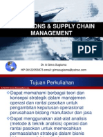 Operation and Supply Chain Management - 280913