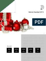 Menús Navidad y Fin de Año