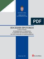 Posebni Protokol o Postupanju Policijskih Sluzbenika u Zastiti Maloletnih Lica Od Zlostavljanja i Zanemarivanja