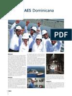 Reconocimiento a AES Dominicana en Libro Top Brands RD.