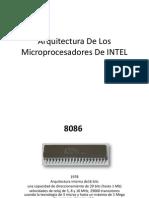 Arquitectura de Los Microprocesadores de INTEL
