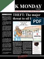 Black Monday November Campaign - Oil Money & Theft