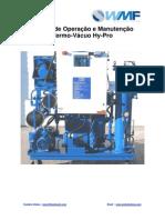 Hy-Pro Vac-U-Dry V5 Owner's Manual PT-BR