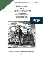 Pequeno Tratado Sobre La Piedra Filosofal-Lambsprinck