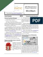 2013 Fourth Quarter edition of MintMark