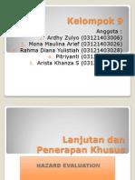 Hazard Evaluation Lanjutan-Kelompok 9.pptx