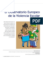 Bullying-Observatorio Europeo(Rosario Ortega)