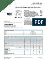 Optoacopladores 4N35 4N36 4N37